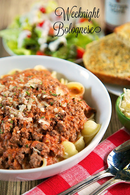 Weeknight Bolognese - from scratch bolognese sauce made in under 30 ...