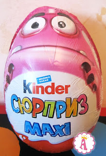 Монстрики в Kinder Maxi 2017
