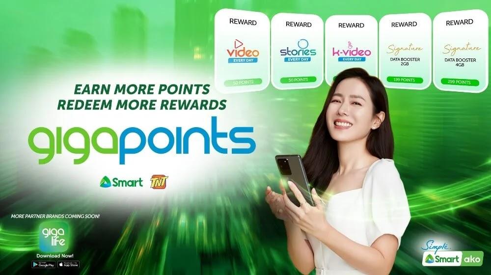 Smart Announces New Rewards Program GigaPoints Accessible Via the GigaLife App