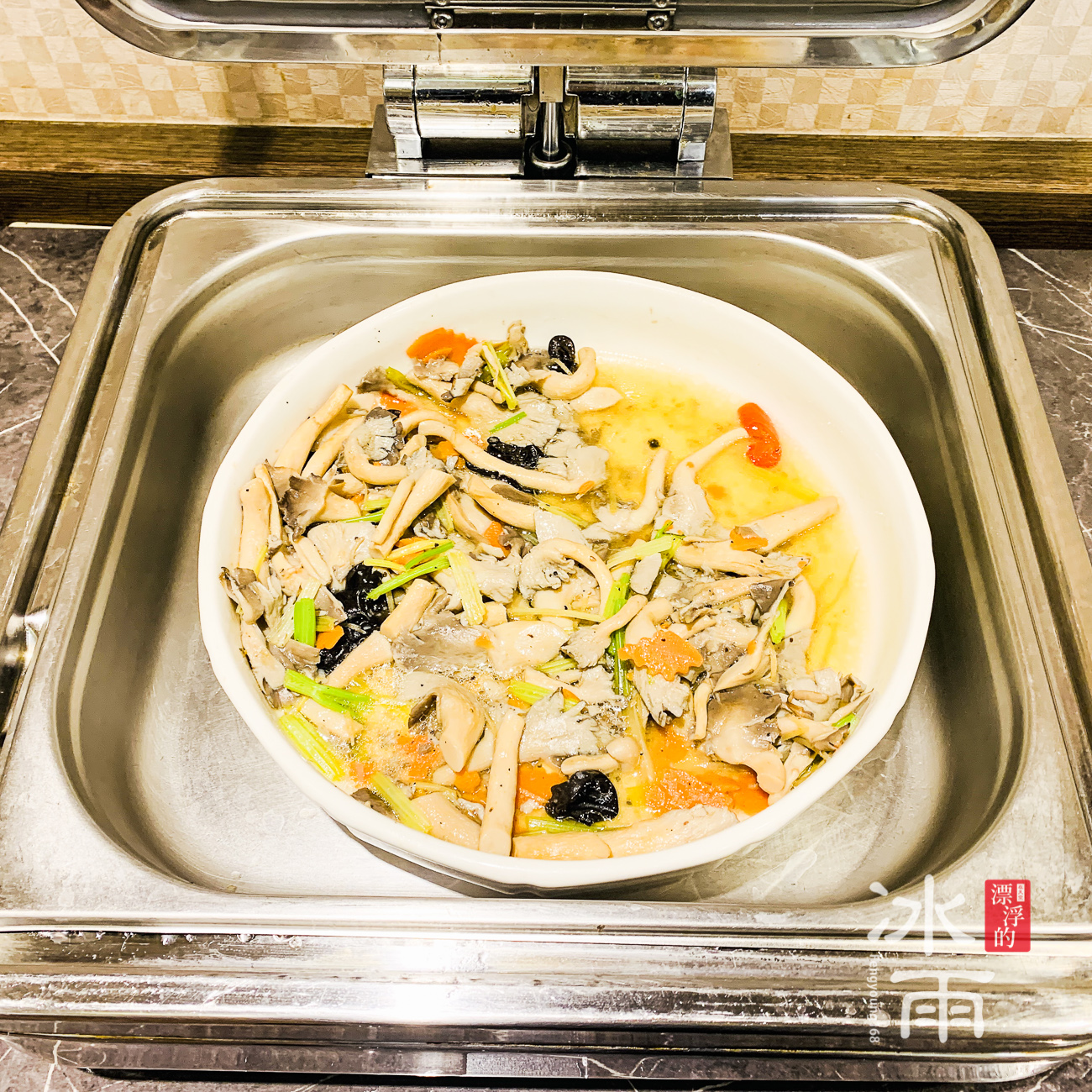 川湯春天溫泉飯店德陽館 早餐 中式熱炒