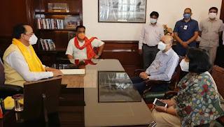 अजय भट्ट ने रक्षा राज्य मंत्री के रूप में पदभार संभाला Ajay Bhatt takes over as Minister of State for Defense