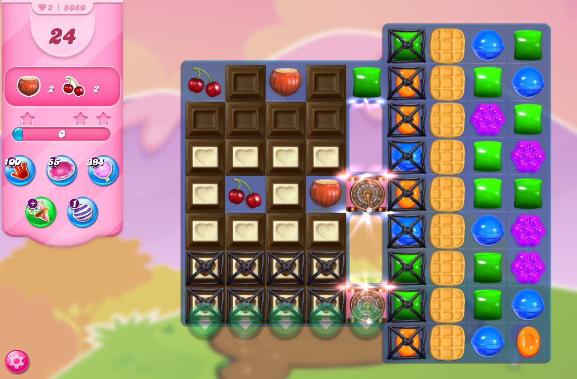 Candy Crush Saga level 5080
