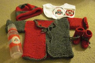 Buckeye Baby Set
