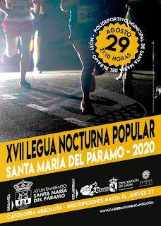 Legua Nocturna Santa Maria del Paramo 2020