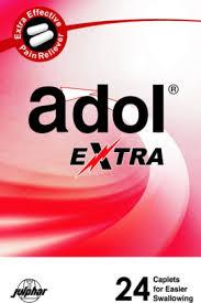 سعر ودواعي استعمال أدول أكسترا Adol Extra مسكن