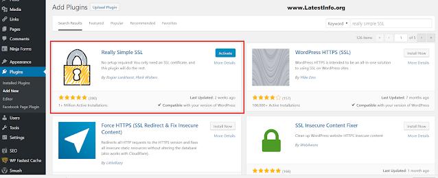 Really Simple SSL Plugin