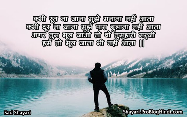 sad shayari about life