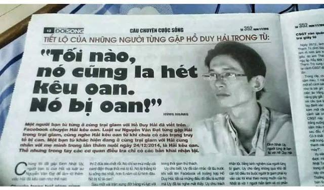 Nghi can thứ 5 là Trung - KS xây dựng do Nguyễn Văn Nghị khai trong vụ án Hồ Duy Hải