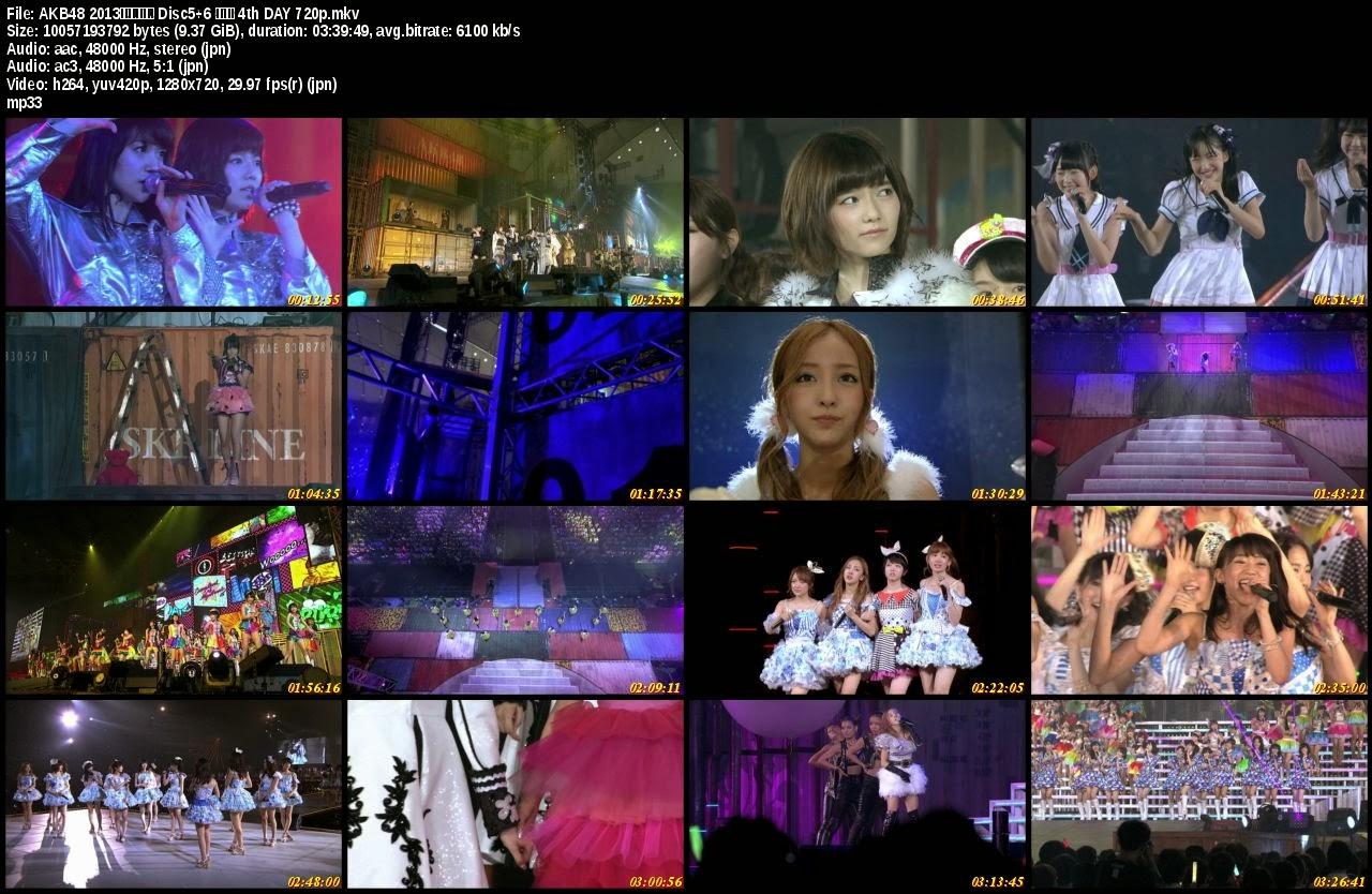 AKB48 2013 Manatsu no Dome Tour 720p Bluray Rip [Concert Unit Song