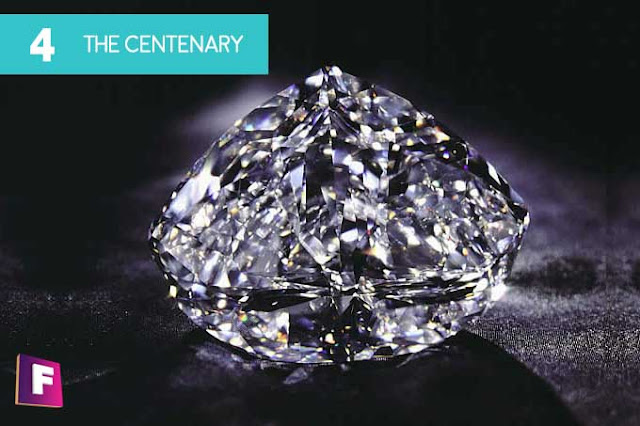diamantes mas caros del mundo | puesto 4 the centenary diamond - foro de minerales