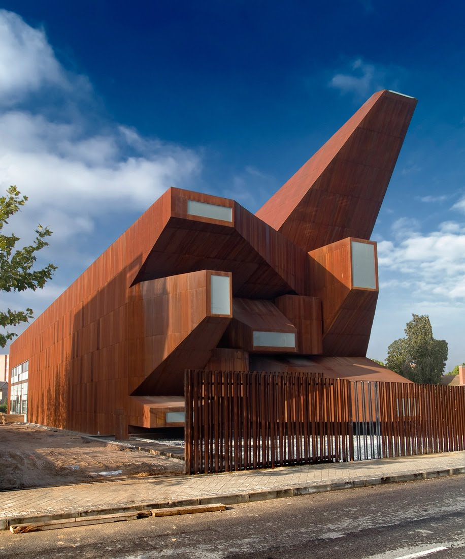 Iglesia de santa m nica de vicens ramos arquitectura y - Arquitectura y diseno de casas ...