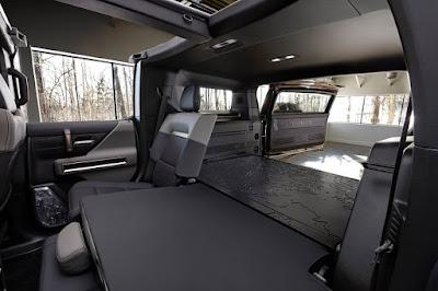 2022 GMC Hummer EV Interrior Cargo Space