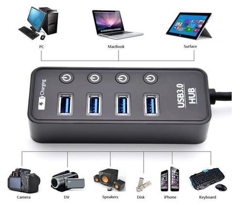 LYFNLOVE HUB001 4 Port USB 3.0 Hub