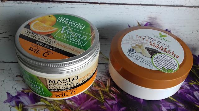 Cosnature naturalne odżywcze masło do ciała z masłem shea i tonką
