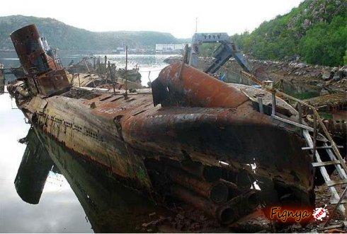 базирование советских подводных лодок