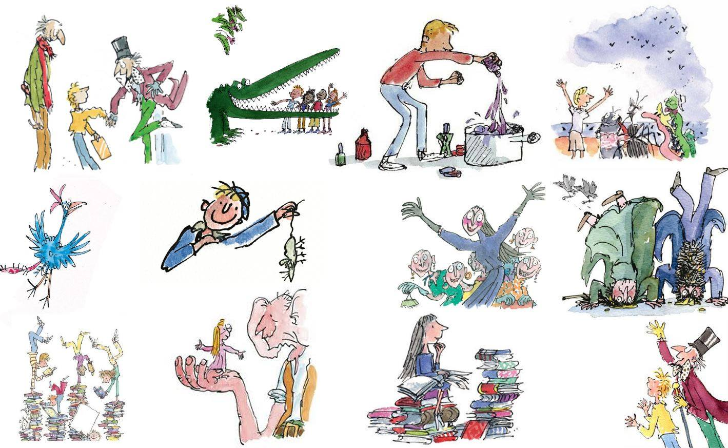 Character Design By 100 Illustrators Pdf : El mÁgico mundo de roald dahl