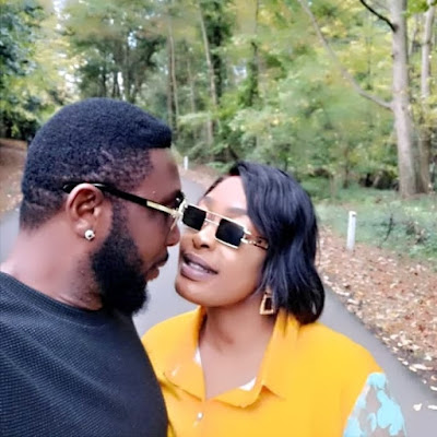 Nuella Njubigbo and Tchidi Chikere loved up photos