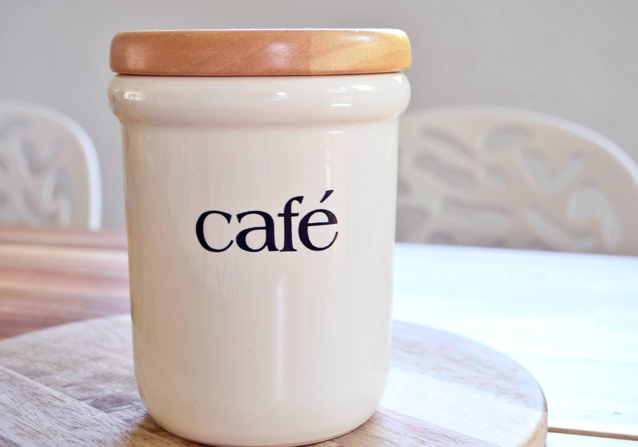 pojemnik na kawę ziarnistą