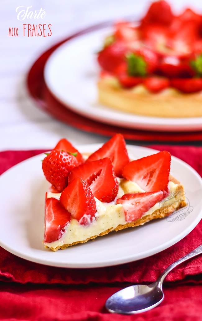 tarte fraise recette