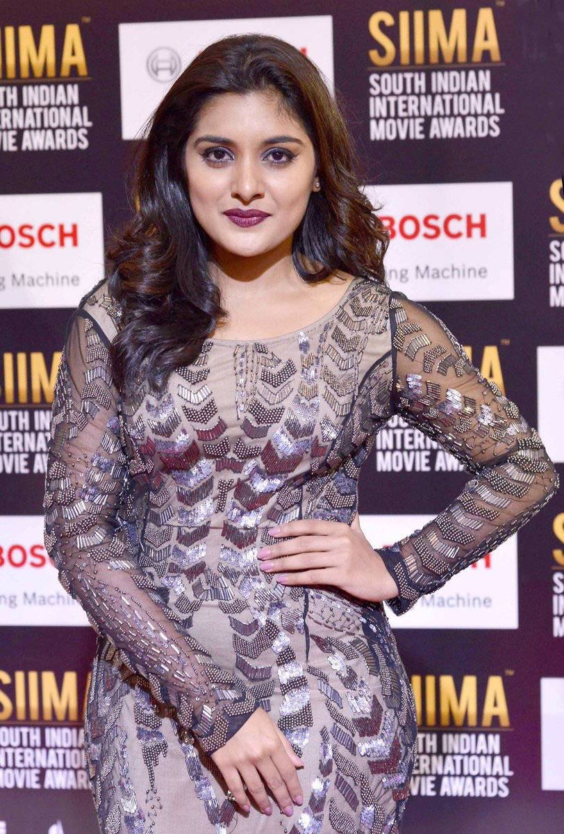 Telugu Actress Niveda Thomas Photos At SIIMA Awards | CineHub
