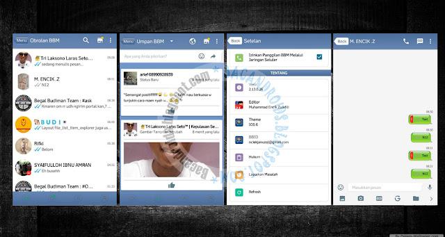 download BBM Mod Thema New IOS 6 Versi 2.13.0.26 Terbaru