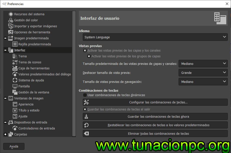 Descargar GIMP Full Español para windows, macos y linux