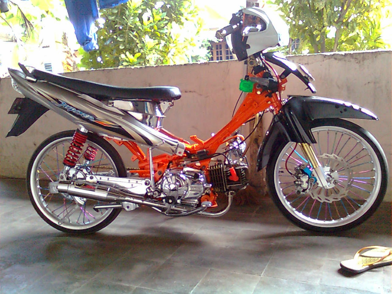 Modif Yamaha Jupiter Z Modifikasi Motor Yamaha