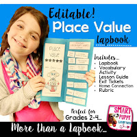 https://www.teacherspayteachers.com/Product/Place-Value-EDITABLE-Math-Lapbook-MORE-2539922