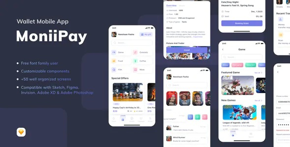 Best Wallet Mobile App UI Kit