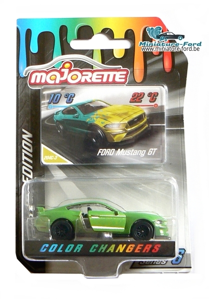 Majorette, Ford Mustang GT, Color Changers