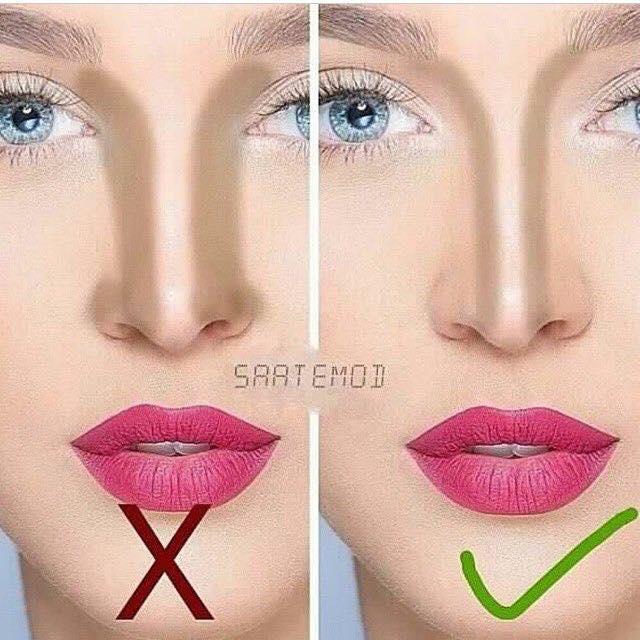 Tạo khối các đường sống mũi
