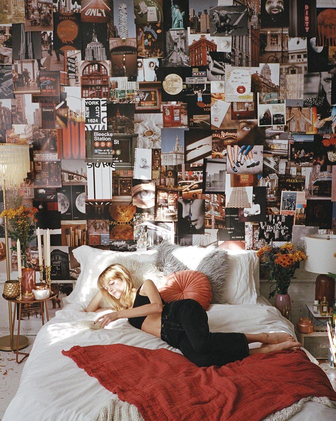 ideias de pose na cama