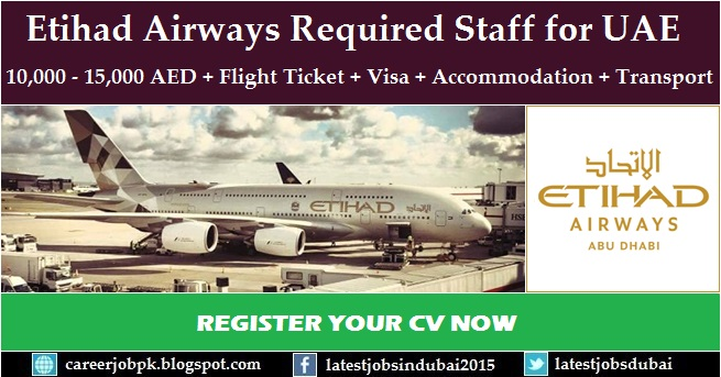Etihad Airways careers and job vacancies in Abu Dhabi