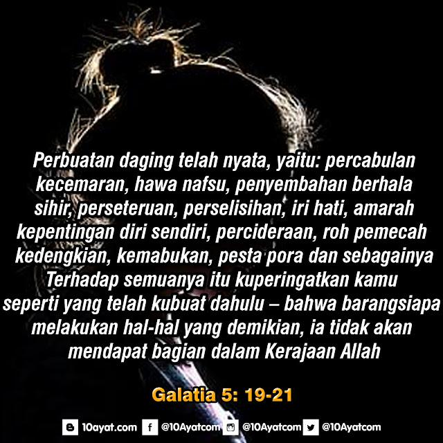 Galatia 5: 19-21