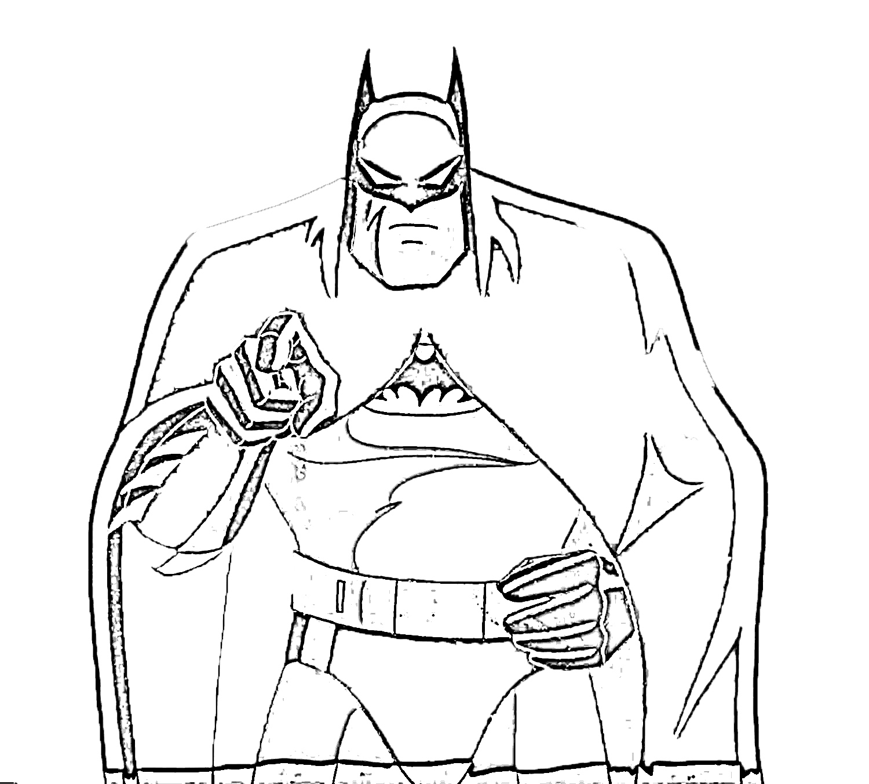 Batman Coloring Pages