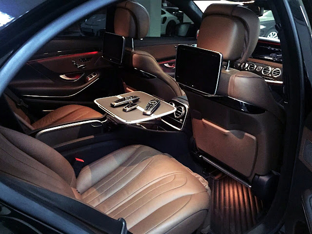 w222 long interior