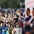 من ساحة فلورنس بفاس شباط يقصف حكومة بنكيران ويعد بأداء أحسن عند تصدر حزبه المرتبة الأولى