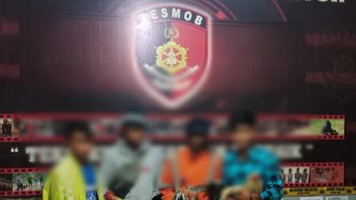 4 Pelaku Judi SBY Diringkus Tim Batitong Maro, Kapoles Tator : Tidak Ada Ruang dan Toleransi
