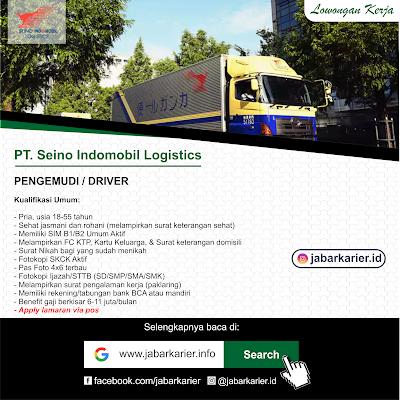 Lowongan Kerja PT Seino Indomobil Logistics (PT. SIL)
