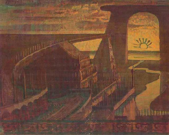 Чюрлёнис Микалоюс Константинас - Крепость (Сказка о крепости). 1908