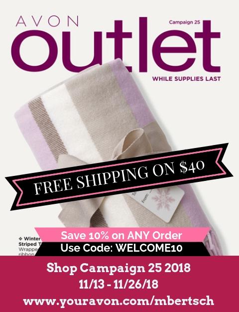 View Avon Outlet Sales - Campaign 25 2018 #Avon #AvonOutlet #AvonCatalog #AvonRepresentative