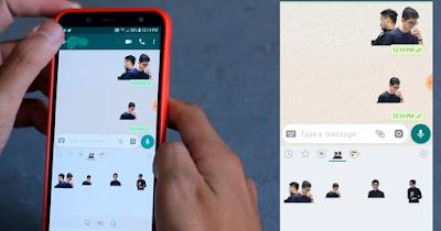 Cara membuat Stiker dari foto sendiri di WhatsApp. Sangat Mudah