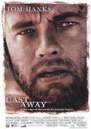Cast Away 2000 Dual Audio BRRip 720p Hindi English