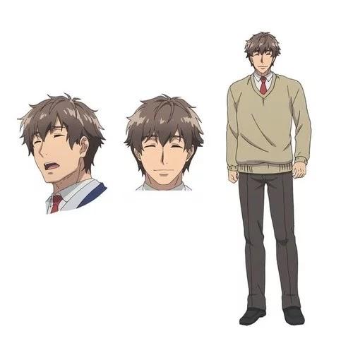 Hidenori Takahashi como Keita Oguma, una persona alegre que dirige a todos con una sonrisa.