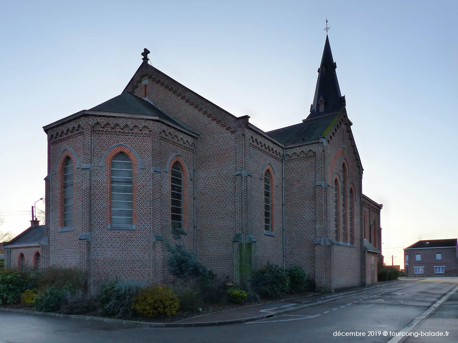 Abside de l'église Saint-Alphonse, Halluin