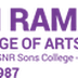 Sri Ramakrishna College of Arts and Science, Coimbatore wanted HOD and Teaching faculties