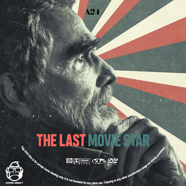 The Last Movie Star DVD Label