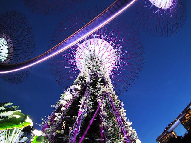 Lightshow Singapur