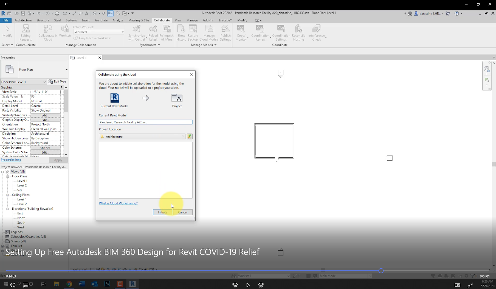 Bim Chapters Introduction To Setting Up Revit Projects In Autodesk Bim 360 Design Youtube Video