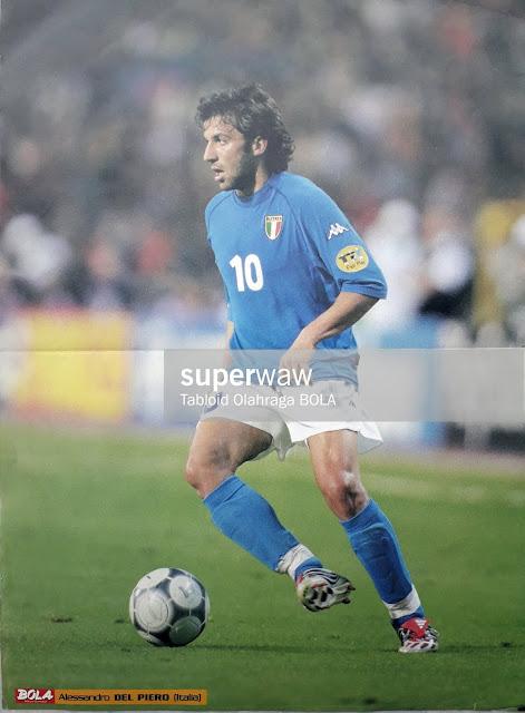 ALESSANDRO DEL PIERO ITALIA EURO 2000